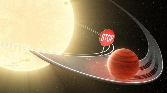 Why 'Hot Jupiter' Exoplanets Aren't Eaten by Their Stars