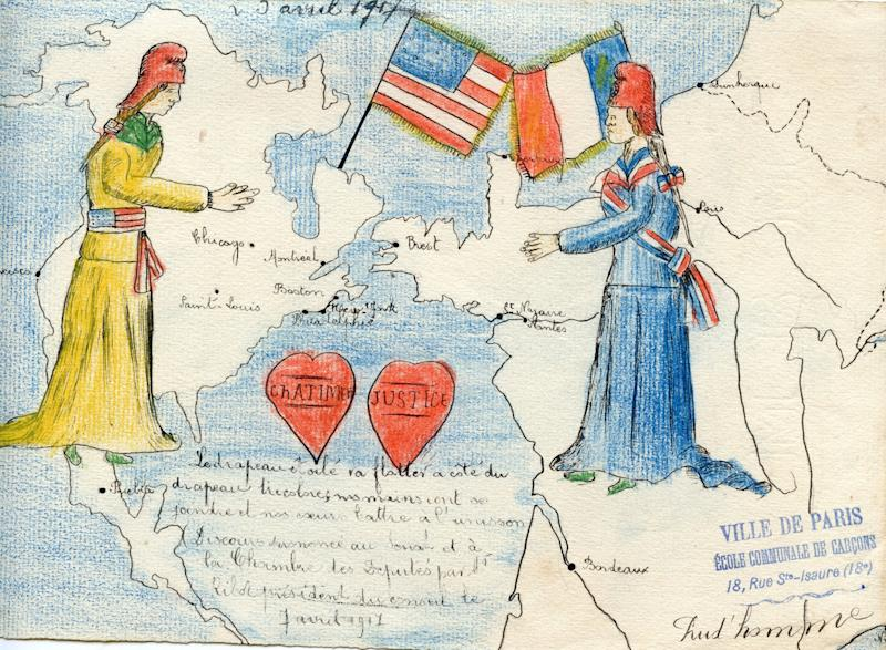 See Stirring Century-Old Artwork by French Children Reacting to World War I