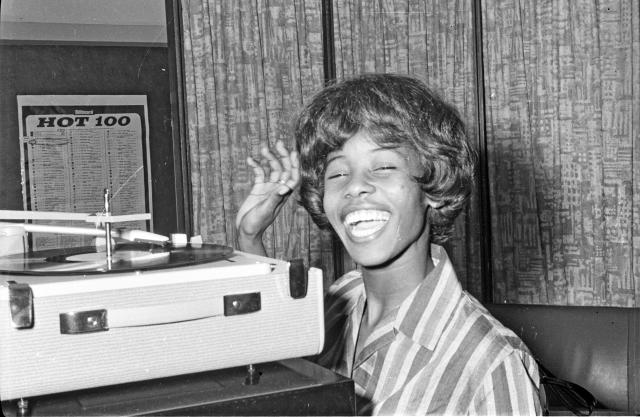 Millie Small reached Number 2 in the UK charts with 'My Boy Lollipop' in 1964. (Getty Images)