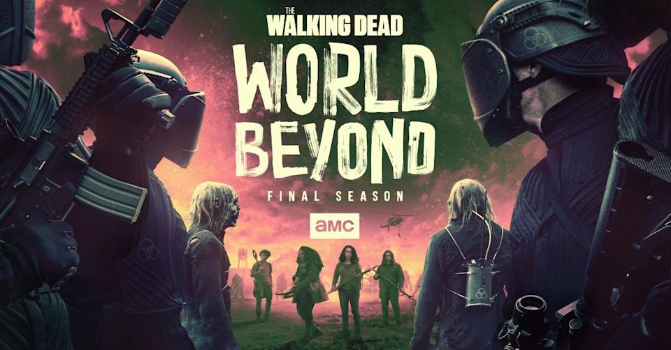 'The Walking Dead: World Beyond' follows teenage protagonists in the wake of the zombie apocalypse. (AMC)