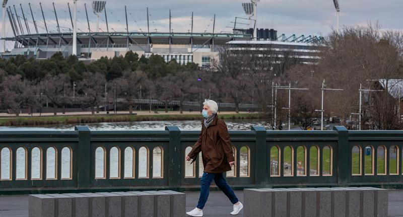 Singles could soon be allowed to visit immediate family despite Stage 4 restrictions in Melbourne. Source: AAP