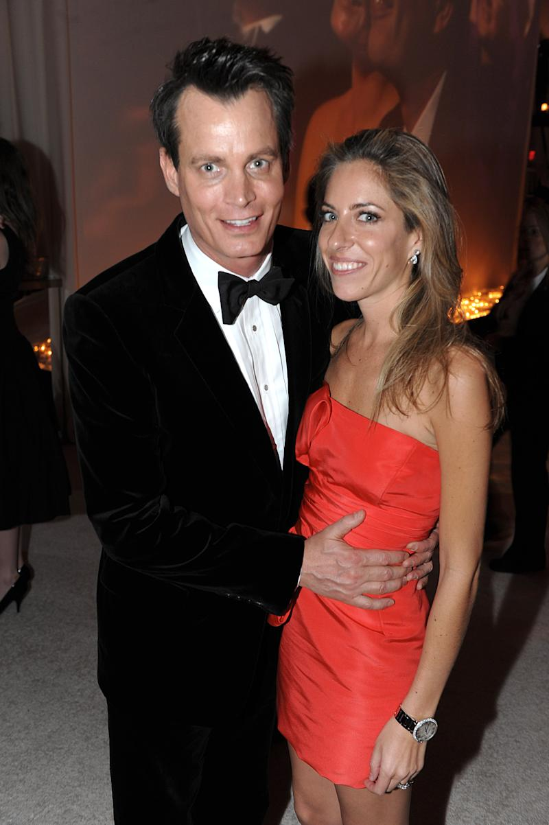 Matthew Mellon and Nicole Hanley attend the 17th Annual Elton John AIDS Foundation Oscar in 2009.