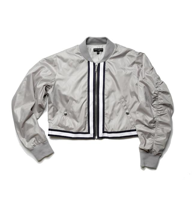 "<p>Nylon Bomber Jacket, $655, <a href=""https://www.soul-cycle.com/shop/item/SW13170003-514249/"" rel=""nofollow noopener"" target=""_blank"" data-ylk=""slk:soul-cycle.com"" class=""link rapid-noclick-resp"">soul-cycle.com</a> </p>"