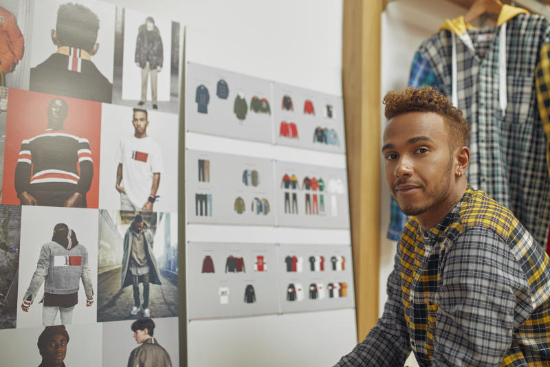 0424c1e6b In It to Win It: Lewis Hamilton Begins to Realize His Big Fashion Ambitions  With Tommy Hilfiger