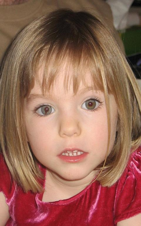 A family photograph of Madeleine McCann - Credit: PA