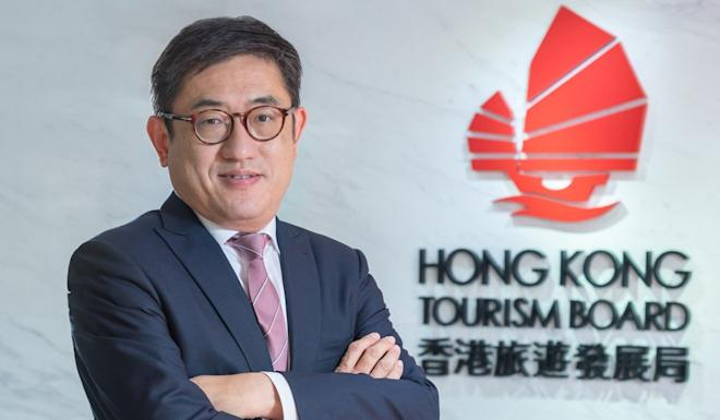 Dane Cheng, executive director of the Hong Kong Tourism Board, says any serious chaos would lead to the cancellation of the fireworks due to be held on December 31. Photo: Handout