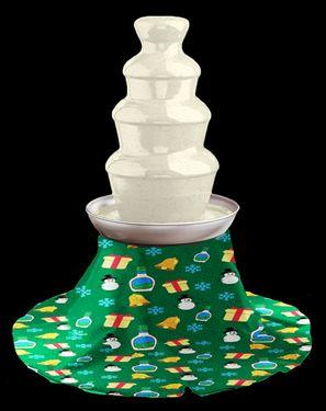 "Buy the <a href=""https://www.flavourgallery.com/collections/hidden-valley-ranch/products/hidden-valley-holiday-ranch-fountain"" target=""_blank"">Holiday ranch fountain with skirt</a> for $110"