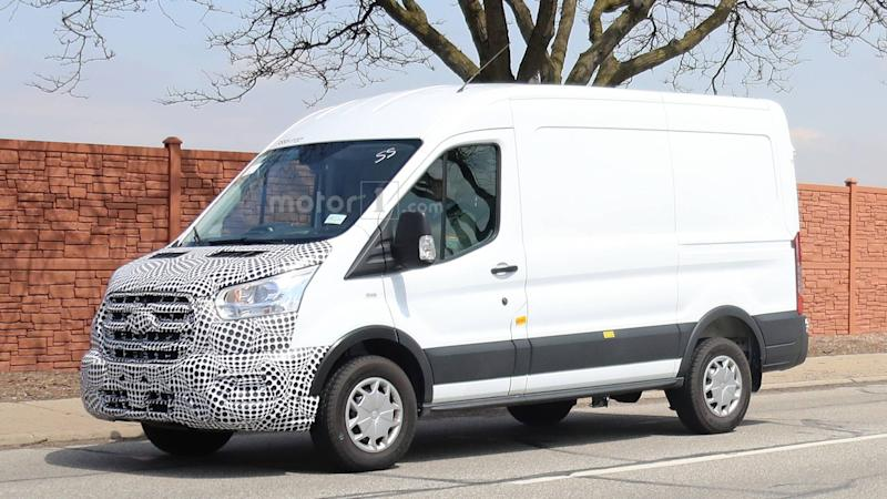 2019 Ford Transit Spy Photo