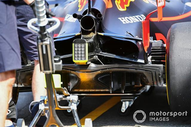 "Red Bull RB15: Diffusor <span class=""copyright"">Mark Sutton / Sutton Images</span>"