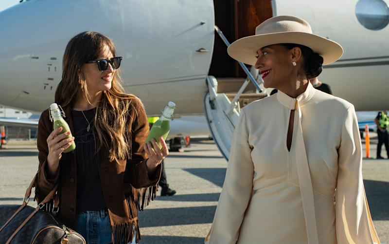 Dakota Johnson plays Maggie, a personal assistant trying to make it as a producer