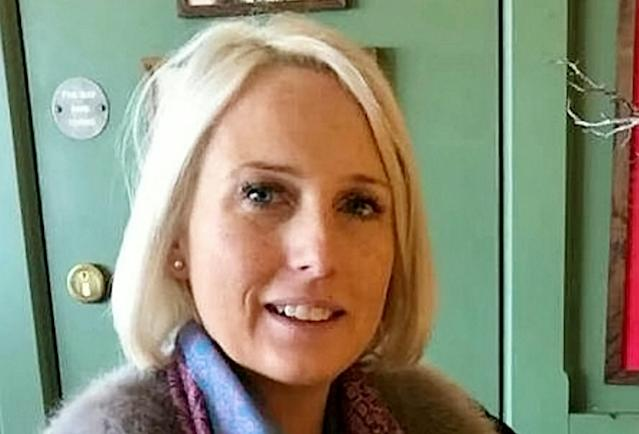 Jenny Barton said she discovered her doorbell theft was one in a spate of similar crimes after posting it on a local Facebook group (Picture: SWNS)