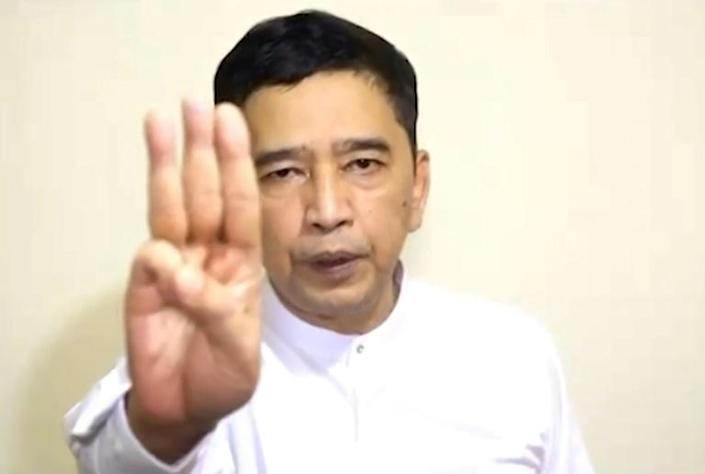 """A shadow """"parliament"""" working in hiding to oust Myanmar's junta from power has announced a new government"""