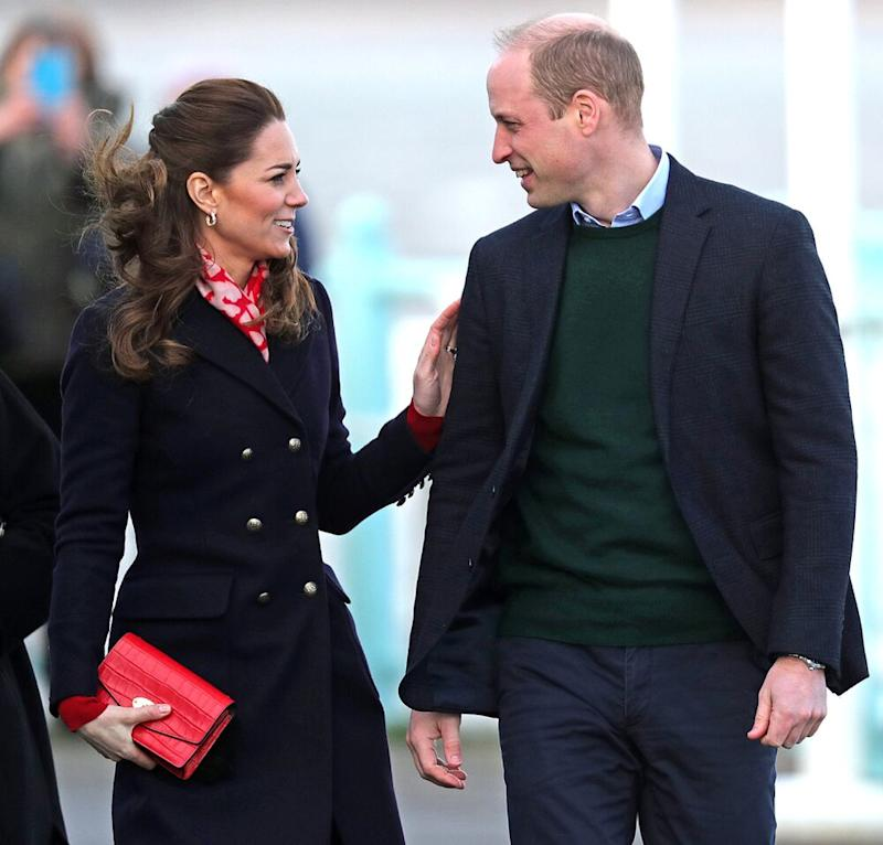 Kate Middleton apologises to fan for what she's wearing on Wales visit