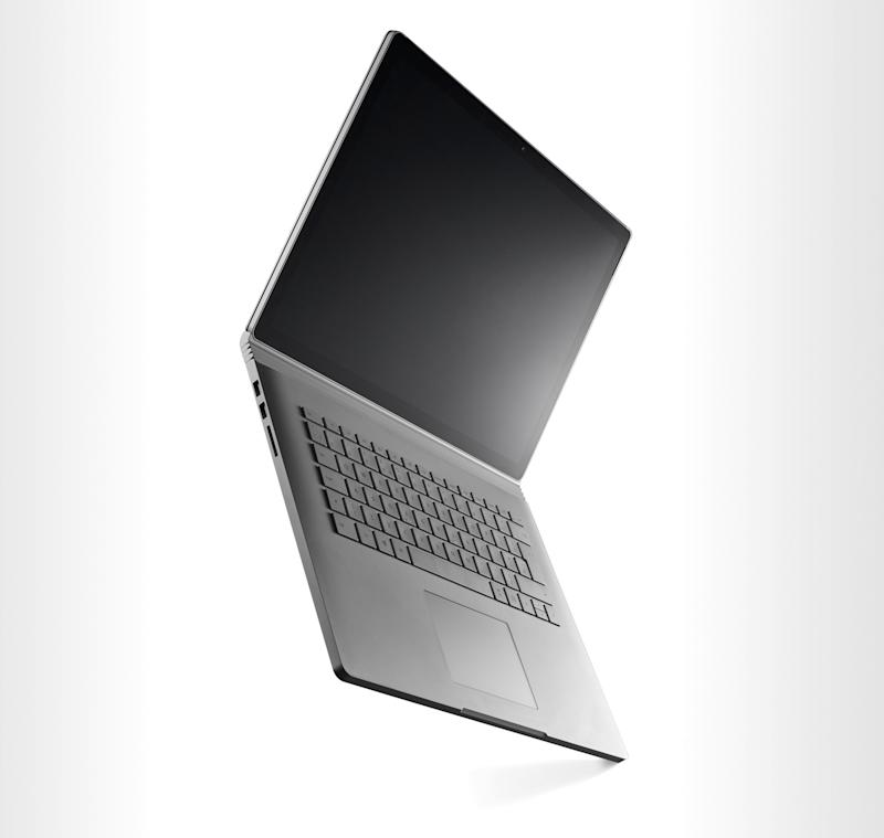 A Microsoft Surface Book 2 two-in-one laptop computer, taken on October 5, 2018. (Photo by Neil Godwin/T3 Magazine/Future via Getty Images)