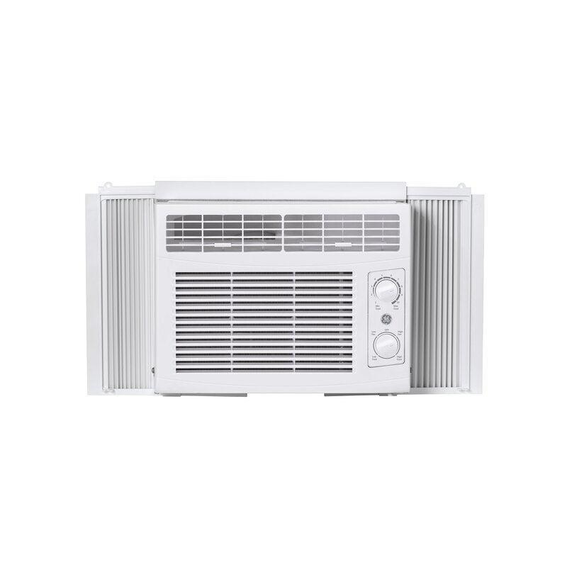 """<h2>Best Affordable Air Conditioner Window Unit</h2><br><h3>GE 115 Volt Mechanical Window Air Conditioner</h3><br>Window units are expensive, but according to reviews, this GE air conditioner is affordable and top-notch. Although it won't make your apartment a winter wonderland, it can cool down up to 150 square feet.<br><br><strong>The Hype</strong>: 4.6 out of 5 stars and 788 reviews on <a href=""""https://www.wayfair.com/home-improvement/pdp/ge-appliances-ge-5050-btu-115-volt-mechanical-window-air-conditioner-geap2149.html"""" rel=""""nofollow noopener"""" target=""""_blank"""" data-ylk=""""slk:Wayfair"""" class=""""link rapid-noclick-resp"""">Wayfair</a><br><br><strong>Easy-Breezy Buyers Say: </strong>""""I finally decided to invest in an air conditioner unit and for the price and size, I chose this one. My expectation was that it would at least cool half my apartment (over 1000 square feet) and it did that and more. On days where it's 90 degrees or higher and humid, one half of my place is a sauna and the other is an icebox.""""<br><br><em>Shop</em> <strong><em><a href=""""https://www.wayfair.com/brand/bnd/ge-appliances-b45067.html"""" rel=""""nofollow noopener"""" target=""""_blank"""" data-ylk=""""slk:GE Appliances"""" class=""""link rapid-noclick-resp"""">GE Appliances</a></em></strong> <em>on Wayfair</em><br><br><strong>GE</strong> 115 Volt Mechanical Window Air Conditioner, $, available at <a href=""""https://go.skimresources.com/?id=30283X879131&url=https%3A%2F%2Fwww.wayfair.com%2Fhome-improvement%2Fpdp%2Fge-appliances-ge-5050-btu-115-volt-mechanical-window-air-conditioner-geap2149.html"""" rel=""""nofollow noopener"""" target=""""_blank"""" data-ylk=""""slk:Wayfair"""" class=""""link rapid-noclick-resp"""">Wayfair</a>"""