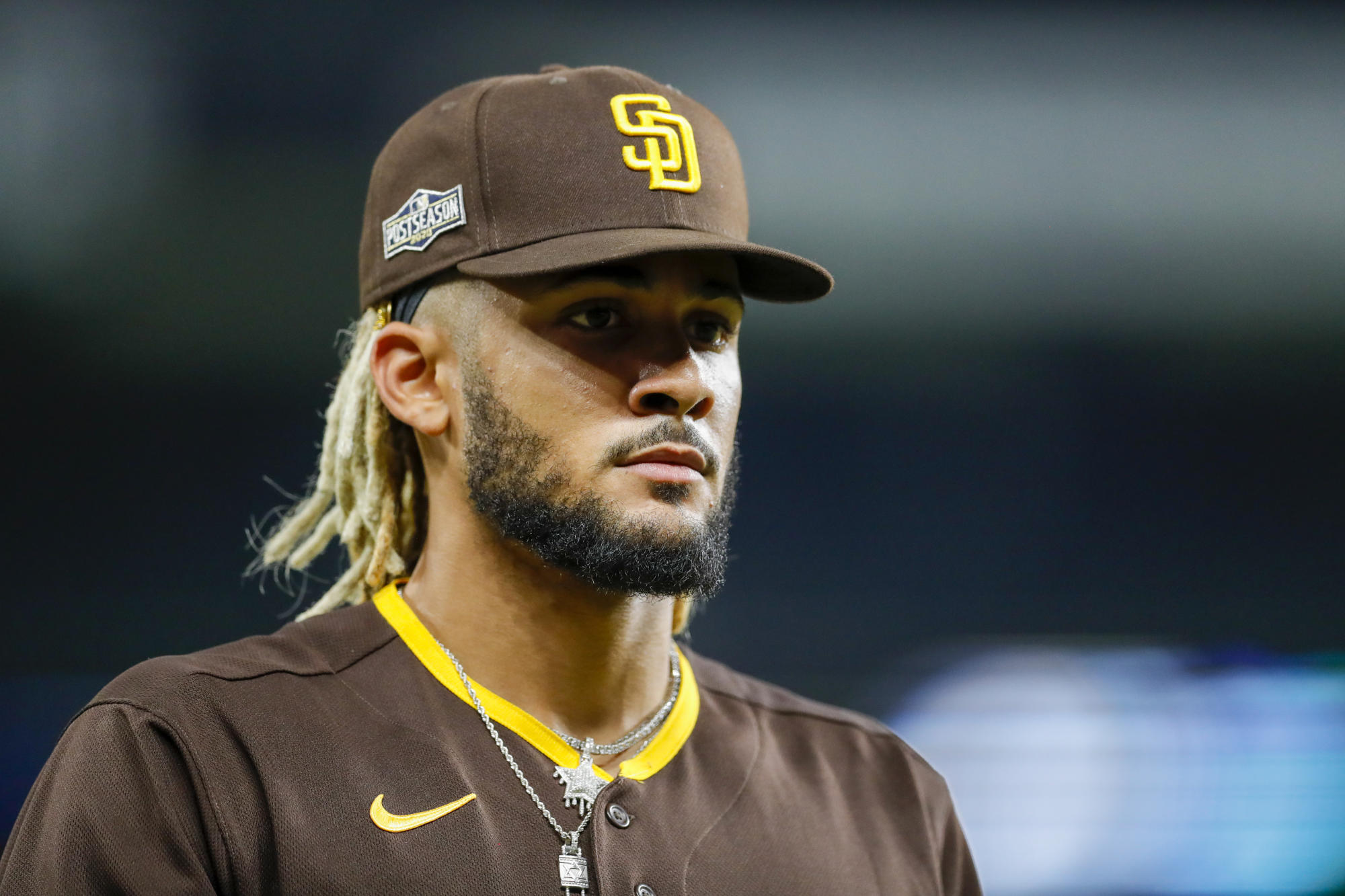 Fernando Tatis Jr. wont be seeing all of that $340 million, thanks to a deal he made as a minor leaguer - Yahoo Sports