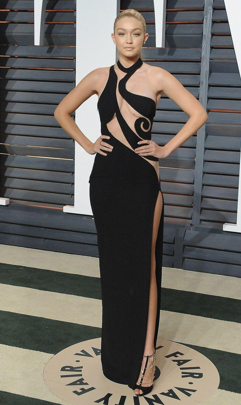 <p>Gigi Hadid's Atelier Versace number, worn to the 2015 Vanity Fair Oscars after party, really stands the test of time and we can totally imagine it on the red carpet today.</p>