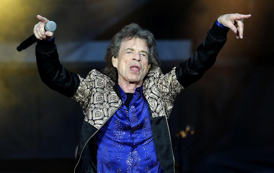 Mick Jagger of the Rolling Stones (Jane Barlow/PA) (PA Archive)