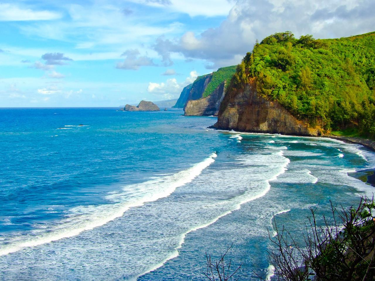 """<p>The incredibly varied landscape of <a href=""""http://www.cntraveler.com/stories/2012-10-29/big-island-hawaii-hiking-adventure-landscapes-beaches-lava-fields?mbid=synd_yahoo_rss"""">Hawaii's largest island</a> is staggering, from snow-capped peaks and one of the world's most active volcanoes (Kilauea) to tropical coves and placid fishing villages.</p> <p><strong>Pro tip:</strong> <a href=""""http://www.nps.gov/havo/index.htm"""">Hawaii Volcanoes National Park</a> is home to three active volcanoes (though they've been quiet since mid-2018). This UNESCO World Heritage Site has more than 140 miles of hiking trails to explore, traveling through rainforests, across black lava fields, and up rugged peaks.</p> <p><strong>Getting there:</strong> Regular flights travel between Honolulu and the Big Island's two largest towns, Hilo and Kona, but airlines like Hawaiian Airlines, Alaska Airlines, and American Airlines now offer non-stop service from the West Coast.</p>"""