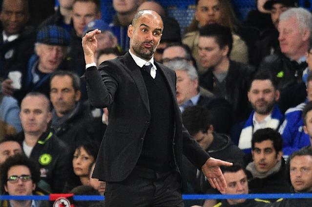 Manchester City's manager Pep Guardiola has struggled in his debut season with the club but plans to bounce back (AFP Photo/Glyn KIRK )