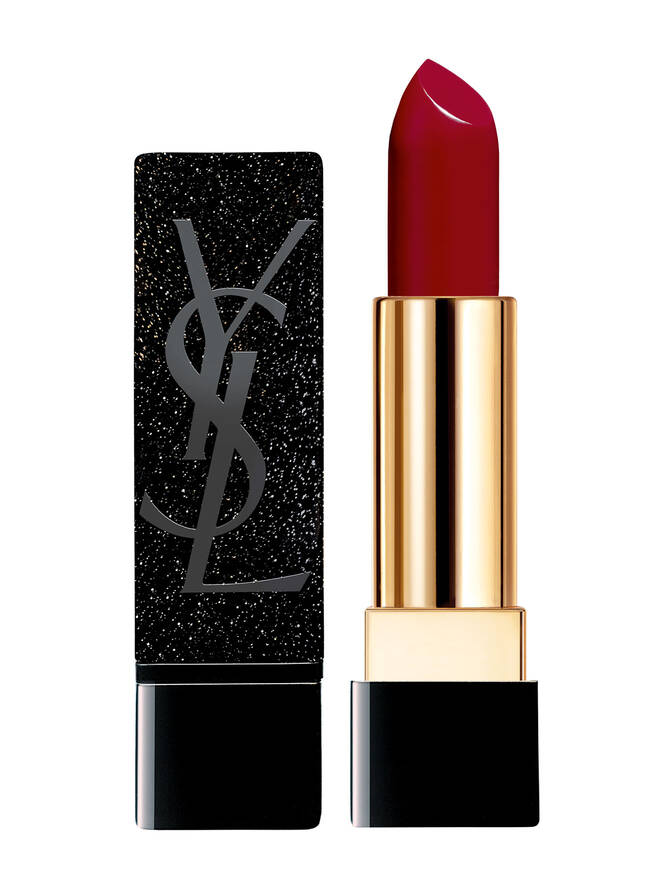 Buy It! ROUGE PUR COUTURE YSL X ZOË KRAVITZ in Lale's Red, $38; yslbeautyus.com | Courtesy YSL Beauty