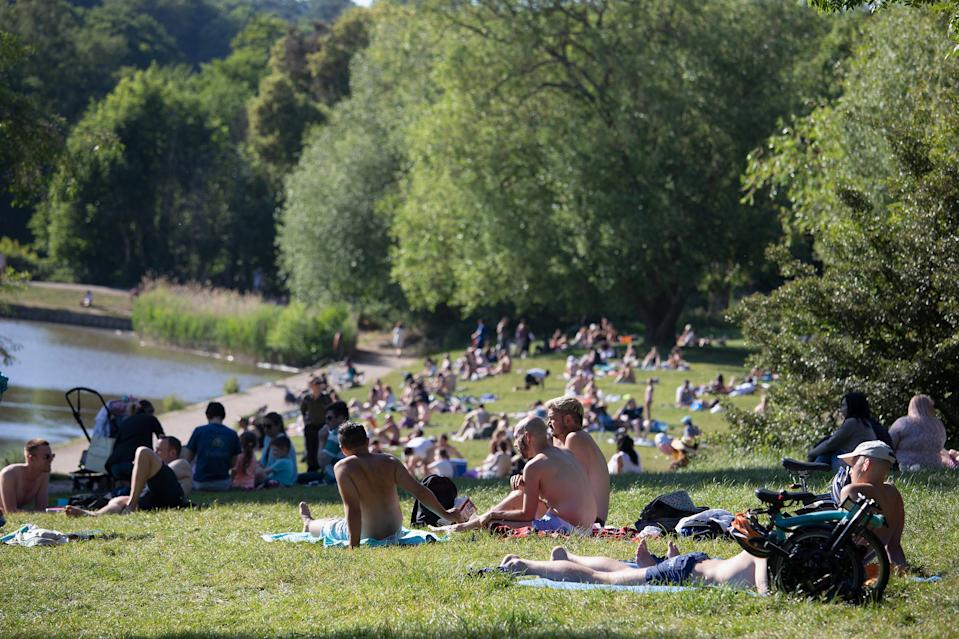 As another warm weekend saw millions flock to beauty spots and beaches, experts have warned lockdown is being lifted too quickly. (Jo Hale/Getty Images)