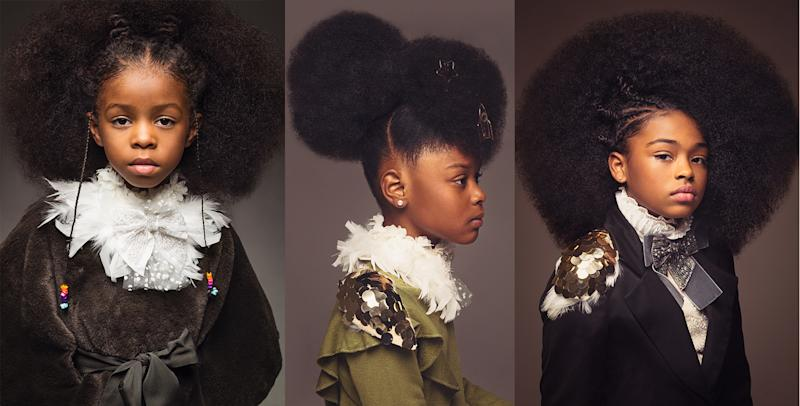 AfroArt photo series highlights the beauty of black girls' hair. (Photos: CreativeSoul Photography; Hairstyling: Lachanda Gatson)