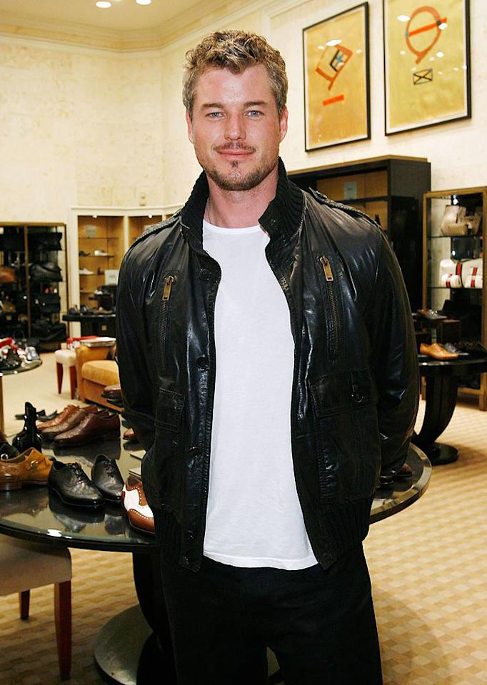 "We totally understand why Eric Dane is called McSteamy, but that soul patch has got to go! Donato Sardella/<a href=""http://www.wireimage.com"" target=""new"">WireImage.com</a> - April 29, 2008"