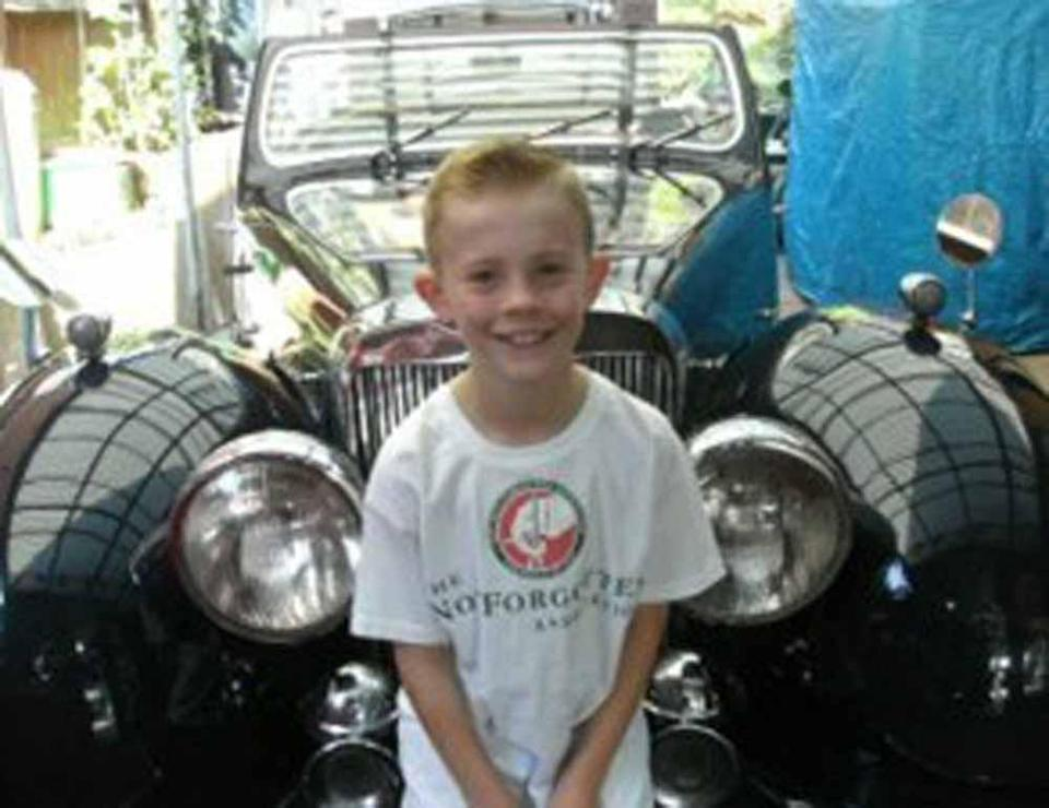 Max inherited his passion for cars from his granddad, who has seven classic automobiles. (Collect/PA Real Life)