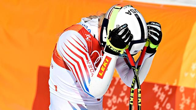 Yahoo Sports' Jeff Passan and Evan Doherty react to the American skier's first Olympic race since 2010 - resulting in a tied for sixth place finish.