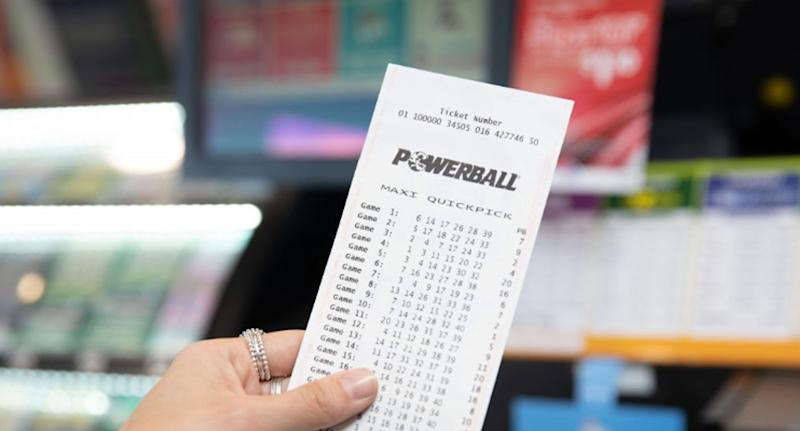 A stock image of a Powerball ticket. The third division-one winner of $50 million, who bought a ticket at an Ipswich newsagency, is yet to be identified.