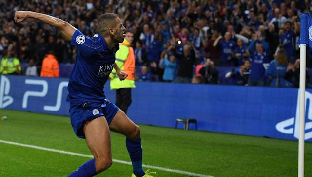 """<p>Leicester's first home Champions League game at the King Power Stadium was also going to be a thunderous occasion. It was Islam Slimani who proved the Foxes' hero with a trademark header. </p> <br><p>The Algerian had started to repay his £28m transfer fee with two goals on his Premier League debut against Burnley 10 days previous. </p> <br><p>Slimani had earned the nickname """"The Dragon Slayer"""" while at Sporting CP because of the number of goals he had fired past Porto, who are nicknamed the dragons. In fact, his final Sporting goal was in a league game against Porto. </p> <br><p>They must have been thrilled to have seen him rested for the return game in December. </p>"""