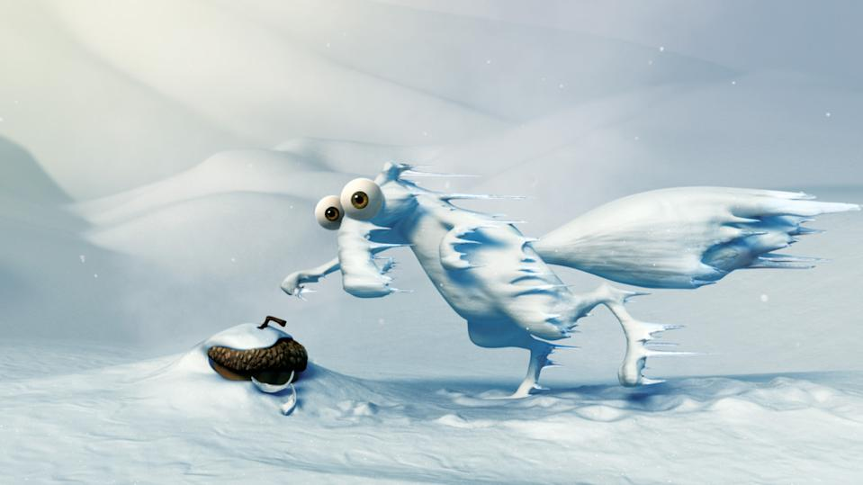 A still from Ice Age: Dawn of the Dinosaurs. (20th Century Fox)