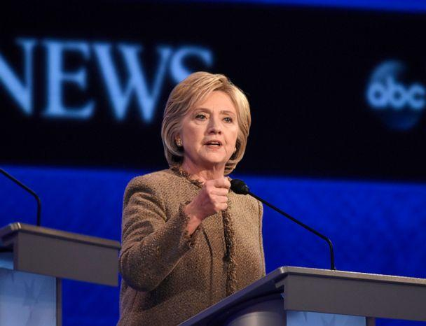 PHOTO: ABC NEWS - 12/19/15 - ABC News coverage of the Democratic Presidential debate from St. Anselm College in Manchester, NH, airing Saturday, Dec. 19, 2015 on the ABC Television Network and all ABC News platforms.    (Ida Mae Astute/ABC)