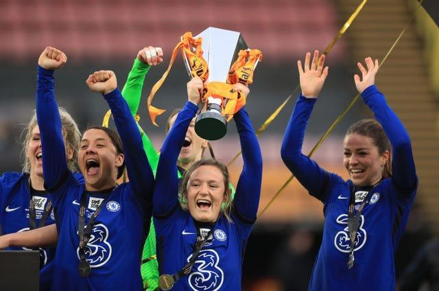 Chelsea have already won the women's League Cup this season