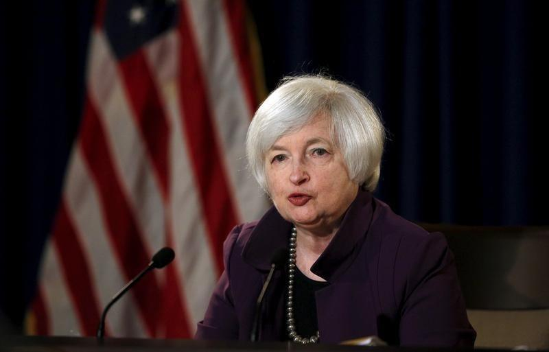 Federal Reserve Chair Janet Yellen attends a news conference after chairing the second day of a two-day meeting of the Federal Open Market Committee to set interest rates in Washington