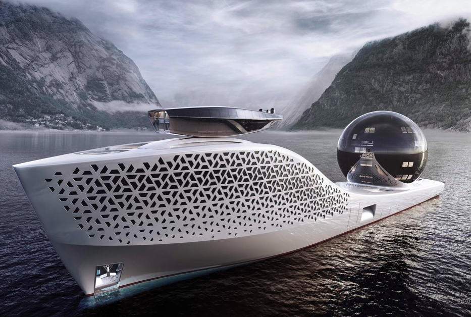 <p>Iddes yachts reveals 300-metre yacht designed for environmental exploration</p> (Facebook/Earth 300)