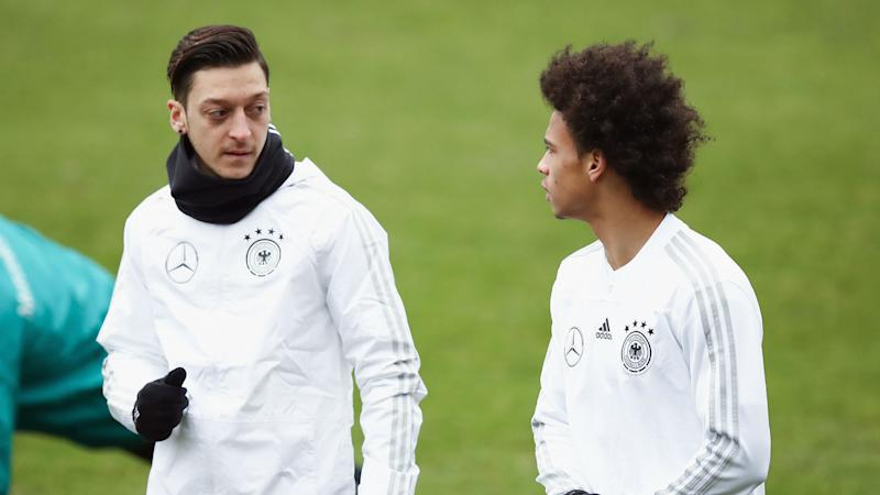 Ozil's Germany absence a 'pity', says Sane