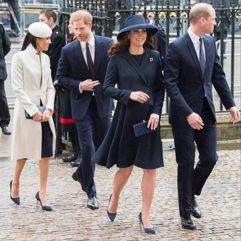 Kate returned to work after recovering from the condition, and went on maternity leave just before Easter. Photo: Getty