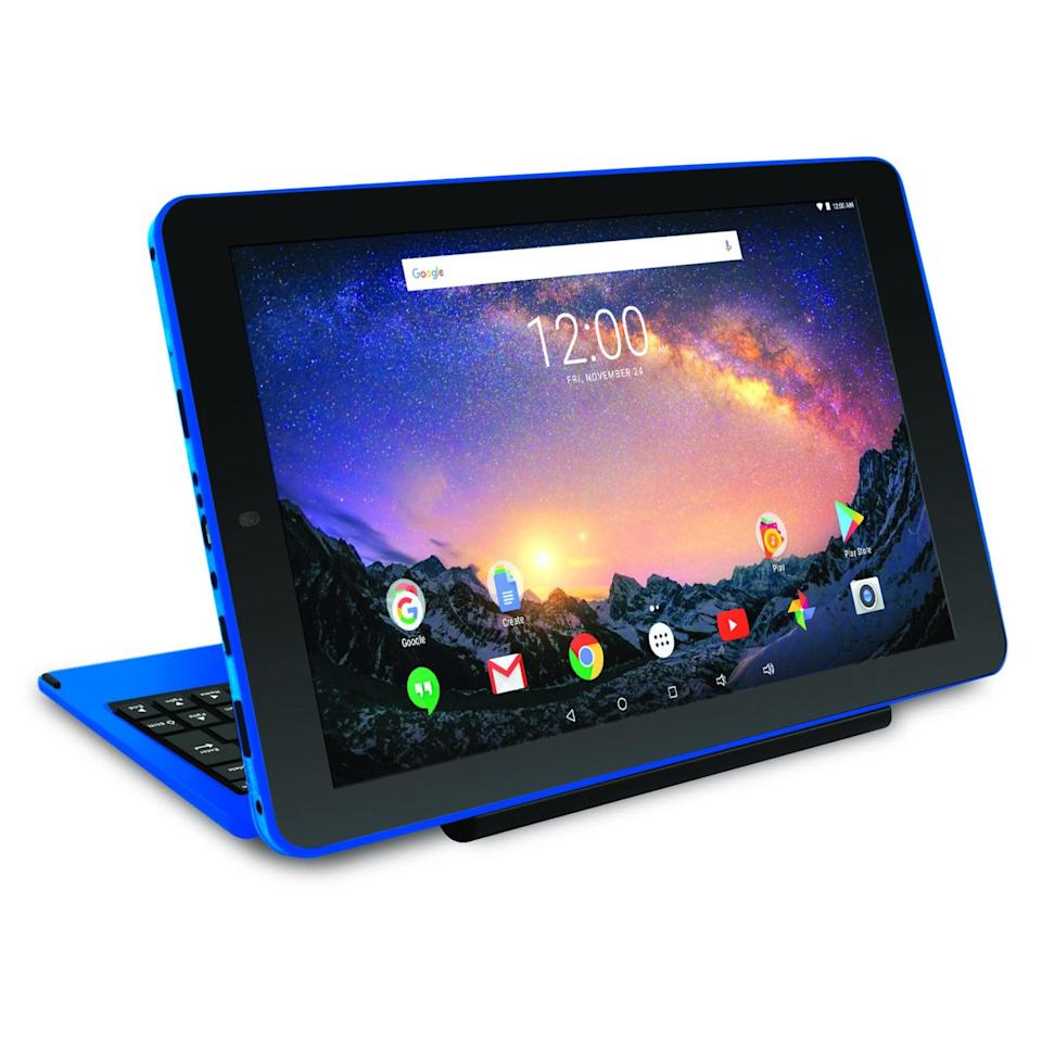<p>This <span>RCA Galileo Pro 32GB 2-in-1 Tablet</span> ($98, originally $180) is great for traveling.</p>