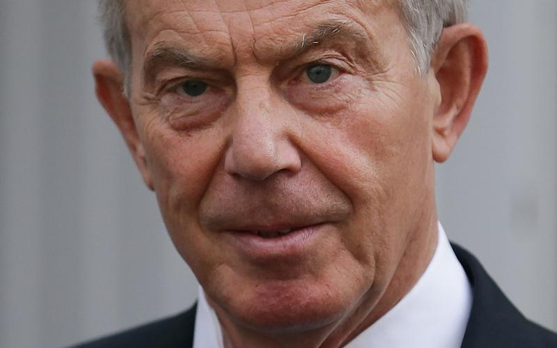 Former British Prime Minister Tony Blair  - AFP or licensors