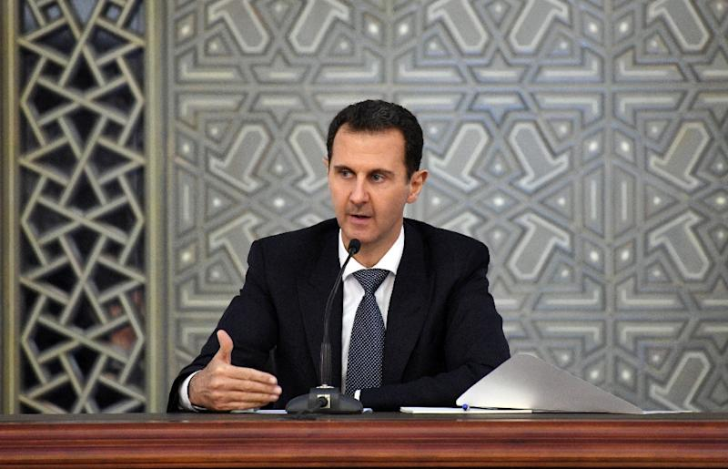 President Bashar al-Assad has refused to step down as part of a deal to end the nearly seven-year Syrian war