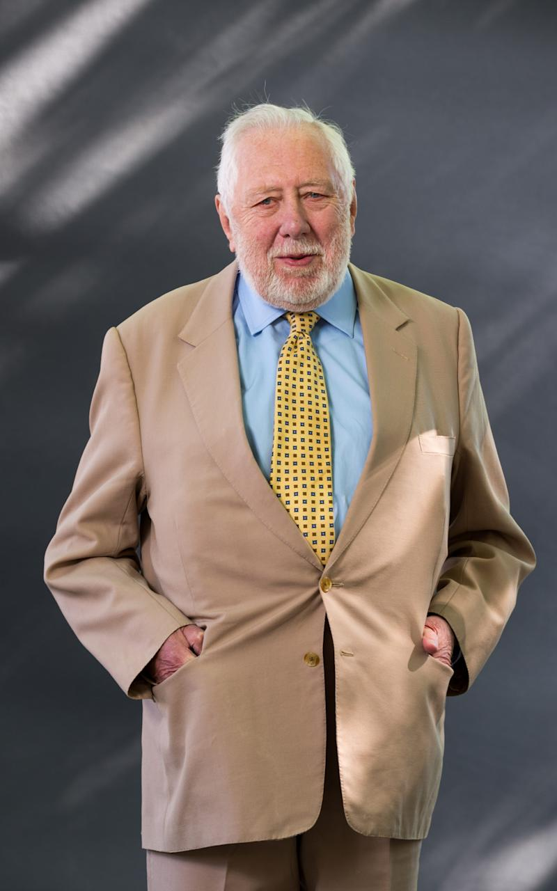Lord Hattersley at the Edinburgh International Book Festival in 2016 - Credit:  Roberto Ricciuti/Getty Images
