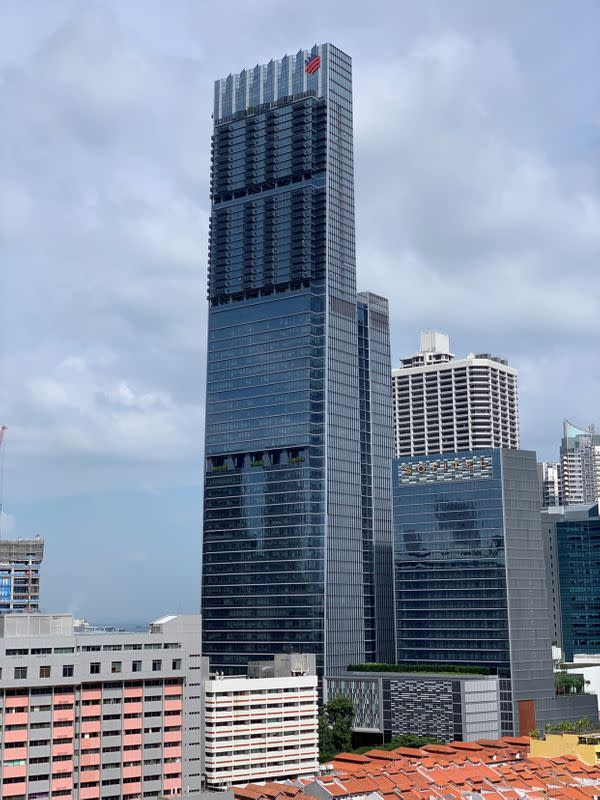 Tanjong Pagar Centre is seen in Singapore