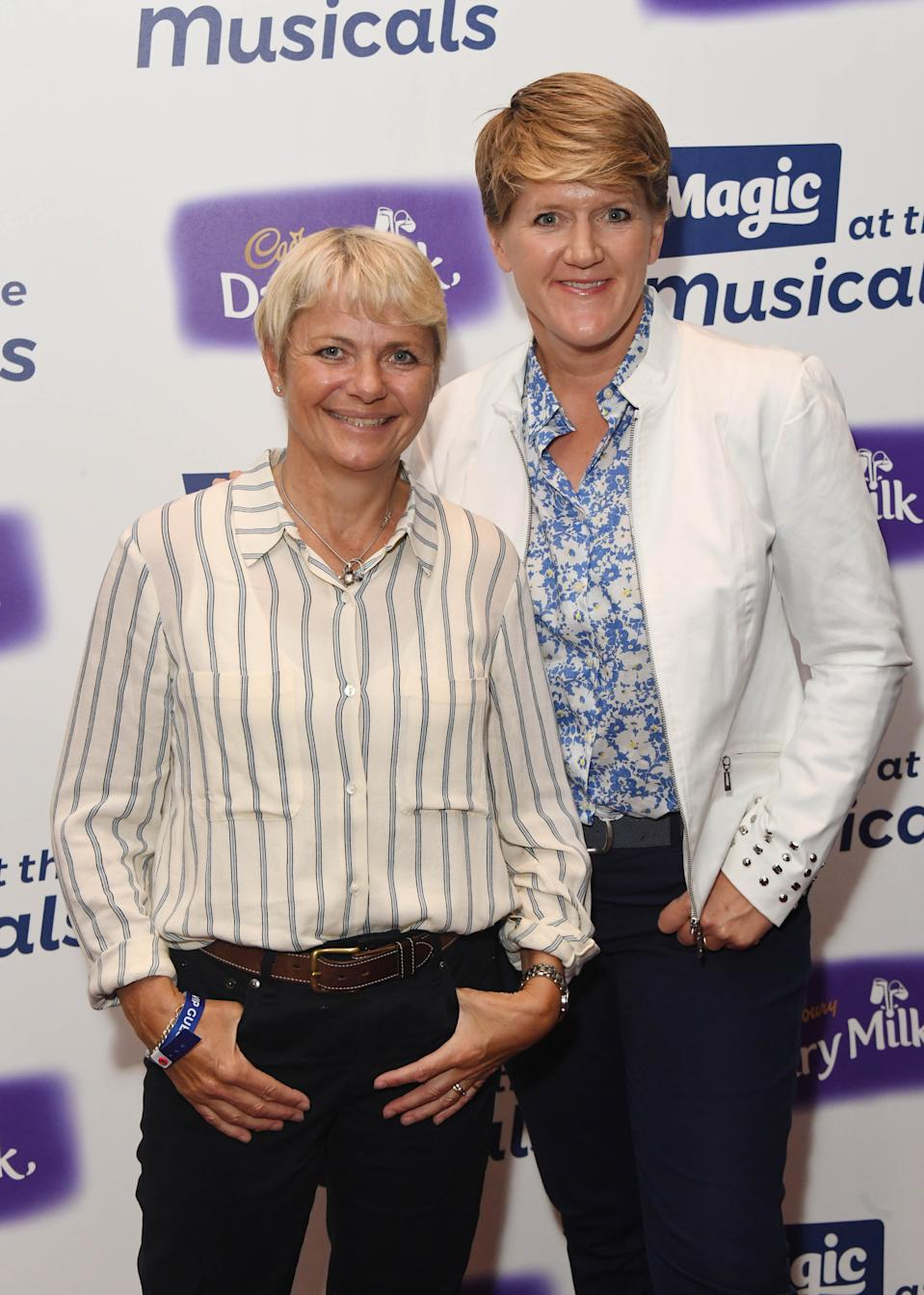 LONDON, ENGLAND - MAY 21:  Alice Arnold and Clare Balding attend Magic Radio's event 'Magic At The Musicals' held at Royal Albert Hall on May 21, 2018 in London, England.  (Photo by Stuart C. Wilson/Getty Images)