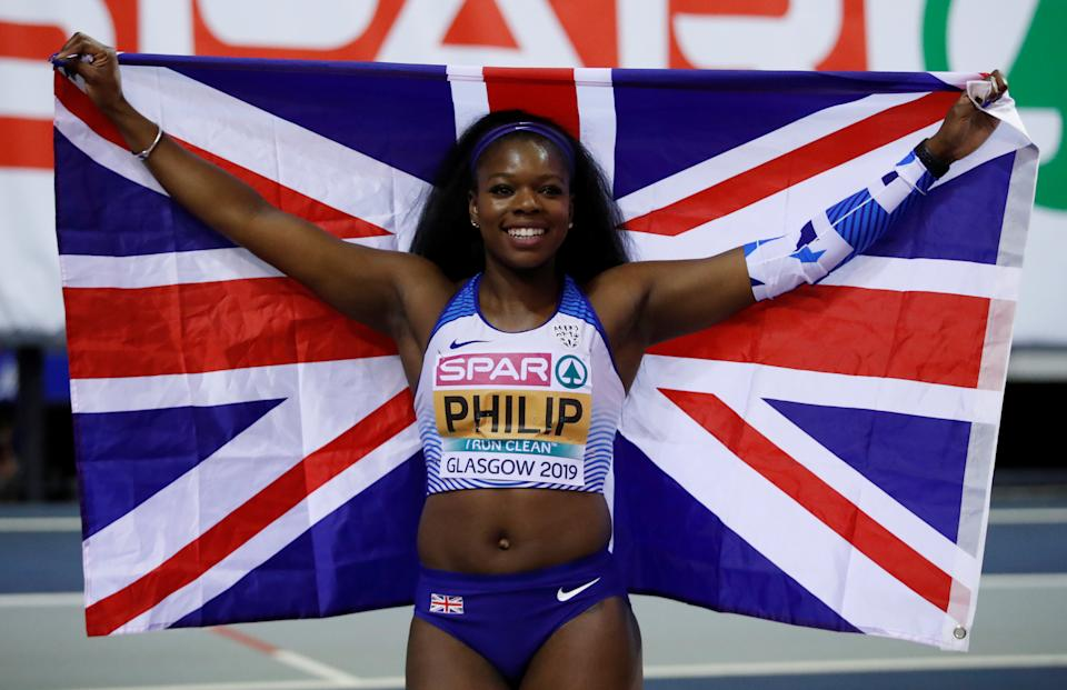 British sprinter Asha Philip will miss the presence of her close-knit clan in Tokyo (Picture: Reuters)