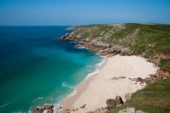 Porthcurno is cream of the crop (istock/krzych-34)