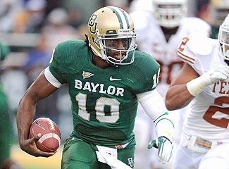 Baylor QB Robert Griffin is drawing comparisons to Steve Young and Michael Vick