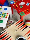 """<p>With a crafty eye and tons of bright paint, the blank table morphs into your favorite classic board games, like backgammon and Monopoly.</p><p>Get the tutorial at <a href=""""http://livethemma.ikea.se/manadens-klassiker-lack/"""" rel=""""nofollow noopener"""" target=""""_blank"""" data-ylk=""""slk:IKEA"""" class=""""link rapid-noclick-resp"""">IKEA</a>.</p><p><em><a class=""""link rapid-noclick-resp"""" href=""""https://www.amazon.com/Apple-Barrel-Acrylic-2-Ounce-PROMOABI/dp/B00ATJSD8I/?tag=syn-yahoo-20&ascsubtag=%5Bartid%7C2089.g.29514474%5Bsrc%7Cyahoo-us"""" rel=""""nofollow noopener"""" target=""""_blank"""" data-ylk=""""slk:BUY NOW"""">BUY NOW</a> <strong>Paint Set, $18, <span class=""""redactor-unlink"""">amazon.com</span></strong></em></p>"""