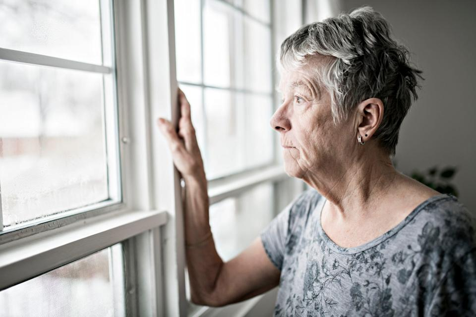 For older people, living alone during the winter can be very isolating.